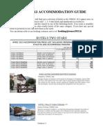 Hotels Wmoc2013