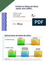 Conectividad BD a JDBC