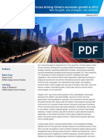 China 12th Five Year Plan China Economic Growth 201203 2