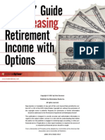 Traders' guide to increasing retirement income with options.