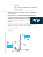 Centrifugal Pump Operation