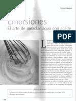 Emulsiones (Koppmann, Ciencia Hoy Vol23, Nmro133)
