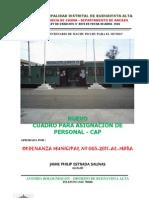 Cap Buenavista Alta 2011 Om 005-2011
