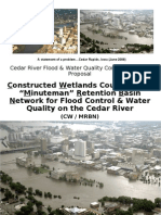 Water control proposal for Cedar Rapids area
