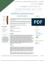 Estudio comparativo para establecer la eficacia y seguridad de omeprazol 40 mg vs. esomeprazol 40 mg en pacientes con enfermedad por reflujo gastroesofágico no erosivo (ERNE) | Revista Médica del Hospital General de México