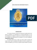Funciones y Atribuciones Del Ministerio Publico