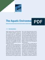 The Aquatic Environment