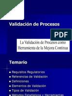 Validacion de Procesos