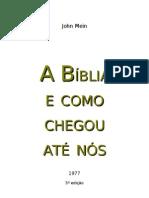 A Historia Da Biblia