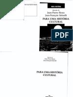 84550426 Livro RIOUX Jean Pierre SIRINELLI Jean Francois Para Uma Historia Cultural
