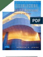 Capítulos 1 Teoría Organizacional de Gareth R. Jones