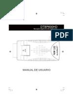Leitor TDT DTBP600HD-Español-Portugûes-English