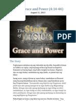 Part 6 - Grace and Power (Luke 4:14-44)