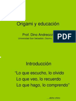 Andreozzi, D. Origami y educación