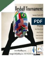Ethnicvolleyball Poster 2013