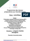Programme LVE 2013&2014
