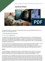 Defenseone.com-Where Are All the Good Drone Pilots