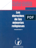 16 Fasciculo 9 - Los Derechos de Las Minorias Religiosas