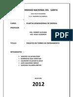 Informe de Torres de Enfriamiento Tego Calderon