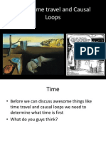 Time, Time Travel and Causal Loops
