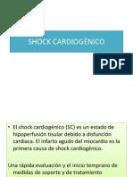 SHOCK CARDIOGÈNICO
