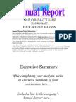 Annual Report Templateppt