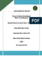 ROJAS SOLÍS JUAN CARLOS 2IV8 OBRA DE TEATRO LOS PICUDOS