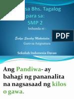 Pandiwa at Ang 3 Aspekto Ng Pandiwa