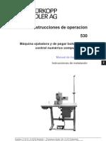 Manual Ojaladora y Botonera