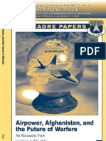 Air Power Afghanistan and Future