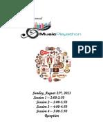 Playathon Program