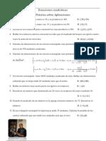 Ecuaciones cuadráticas con foto