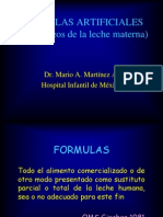Formulas Artificiales