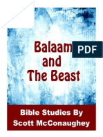 Balaam and the Beast
