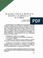 Filosofía matemática - Apunte