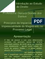 Direito Imparcialidade e Impessoalidade