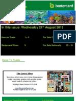 E-Trader Townsville 21 August 2013