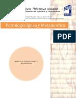 PETROLOGÍA DE ROCAS ÍGNEAS Y METAMÓRFICAS