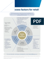 Critical Success Factors for Retail