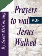 Prayers to Walk as Jesus Walked