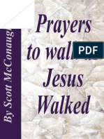 Prayers to Walk as Jesus Walked
