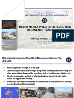 Dpwh Metro Manila Integrated Flood Risk Management Master Plan by Secretary Rogelio l. Singson
