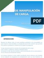 EQUIPO DE MANIPULACIÓN DE CARGA Introduccion 1
