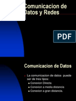 Comunicacion de Datos y Redes
