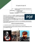 Departamento de Historia El Legado Del Siglo XX