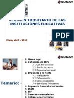 Tributacion Sector Educacion