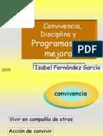 ConvivenciadisciplinaProgramas de Mejora