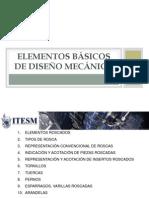 ELEMENTOS BASICOS DISEÑO MECANICO