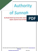Authority of Sunnah