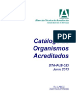 Catalogo de Acreditacion de laboratorios Jun-2013